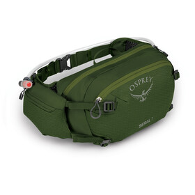 Osprey Seral 7 Hydration Waist Pack with Reservoir, dustmoss green
